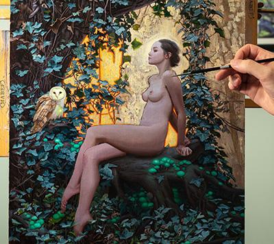 Rodrigo Luff painting