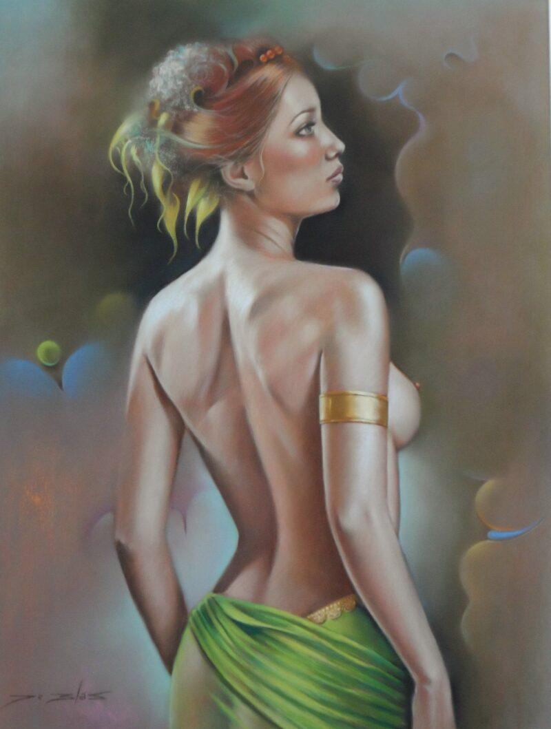 Román de Blas Painting @ TheGallerist.art