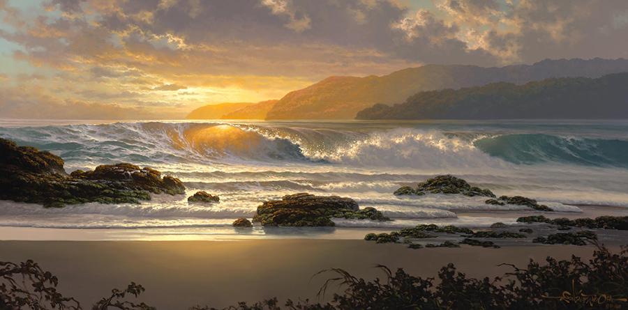 Roy Tabora painting