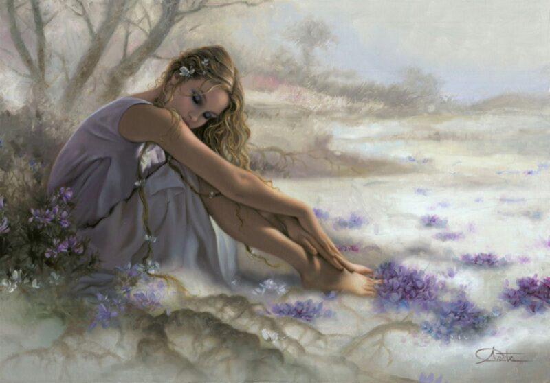 Arantza Sestayo Painting @ TheGallerist.art