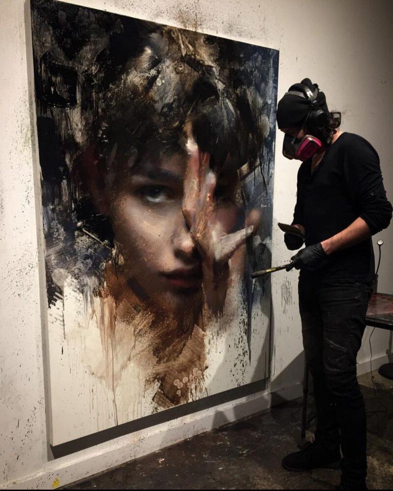 Casey Baugh Painting @ TheGallerist.art