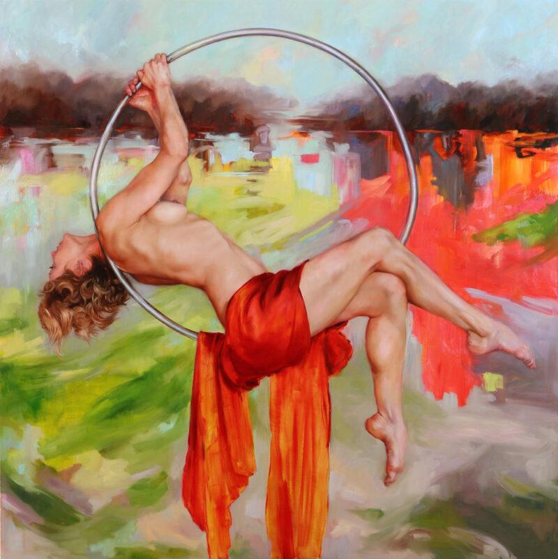 Claire Bridge Painting @ TheGallerist.art