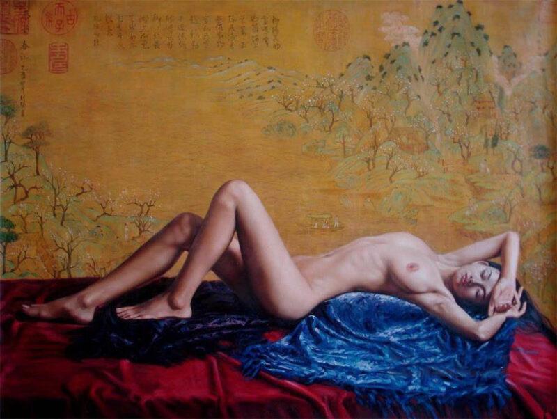 Guan Zeju Painting @ TheGallerist.art