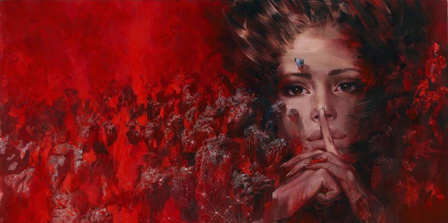 Ivan Slavinsky painting