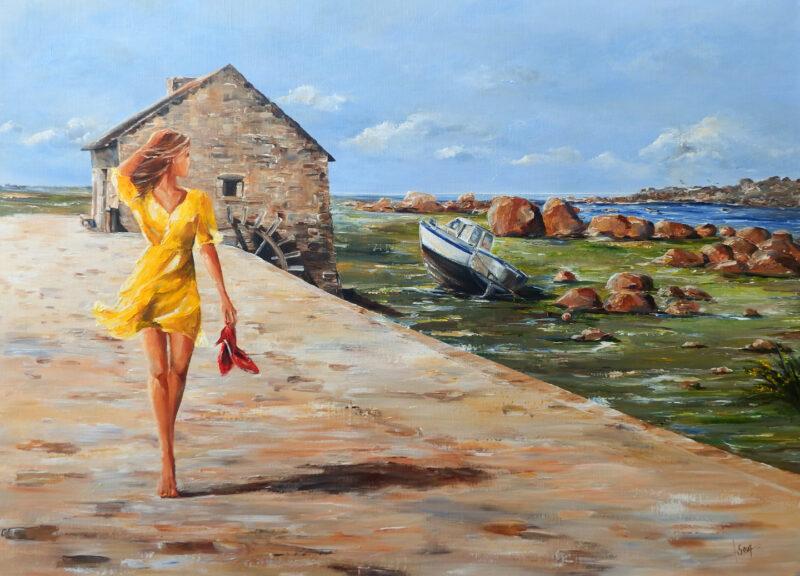 Marie-Laure Souq Painting @ TheGallerist.art