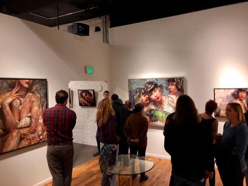 Matt Talbert Exhibition @ TheGallerist.art