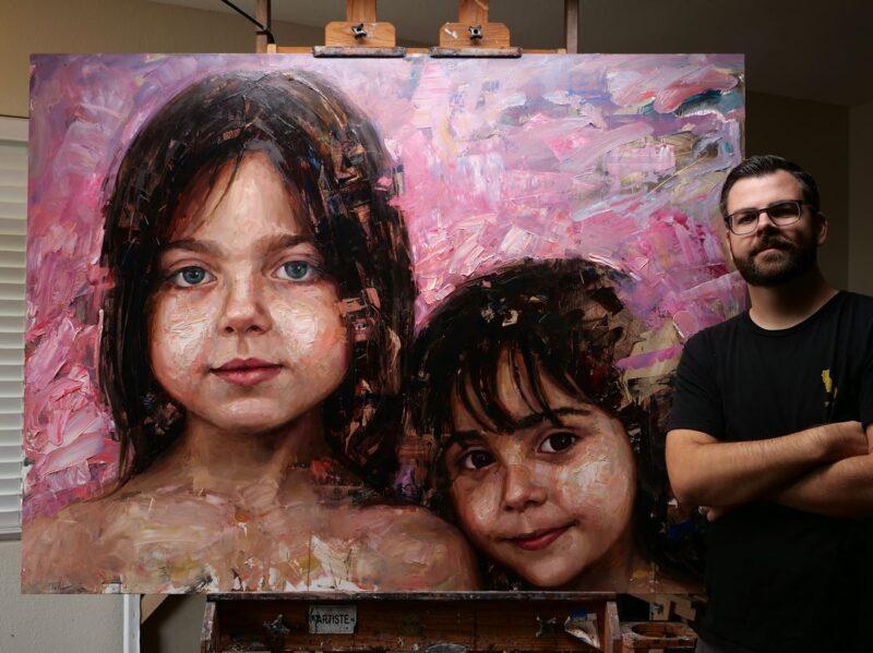 Matt Talbert Painting @ TheGallerist.art