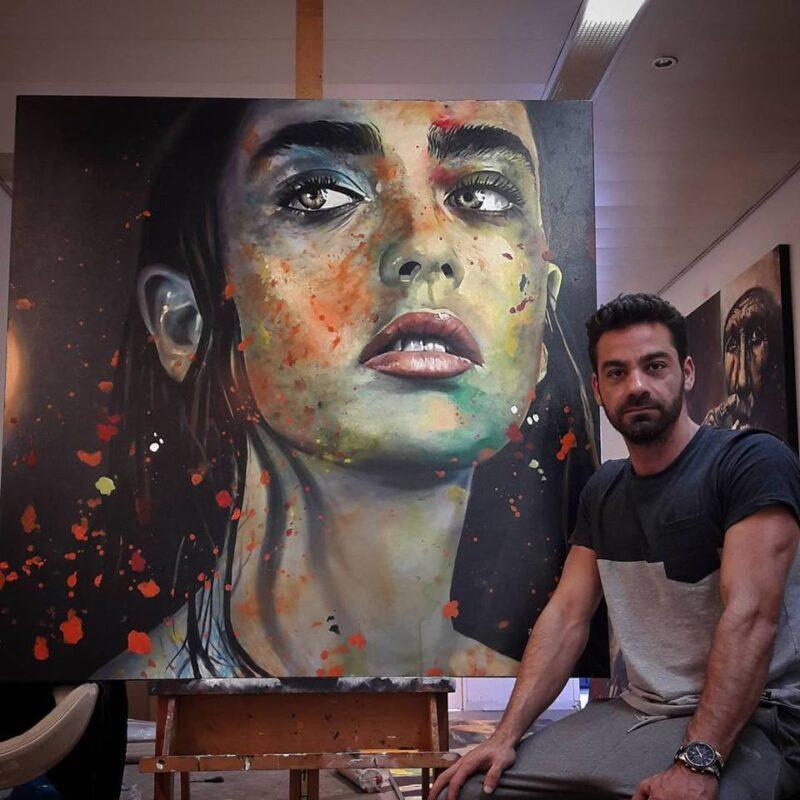 Pedro Albuquerque Painting @ TheGallerist.art