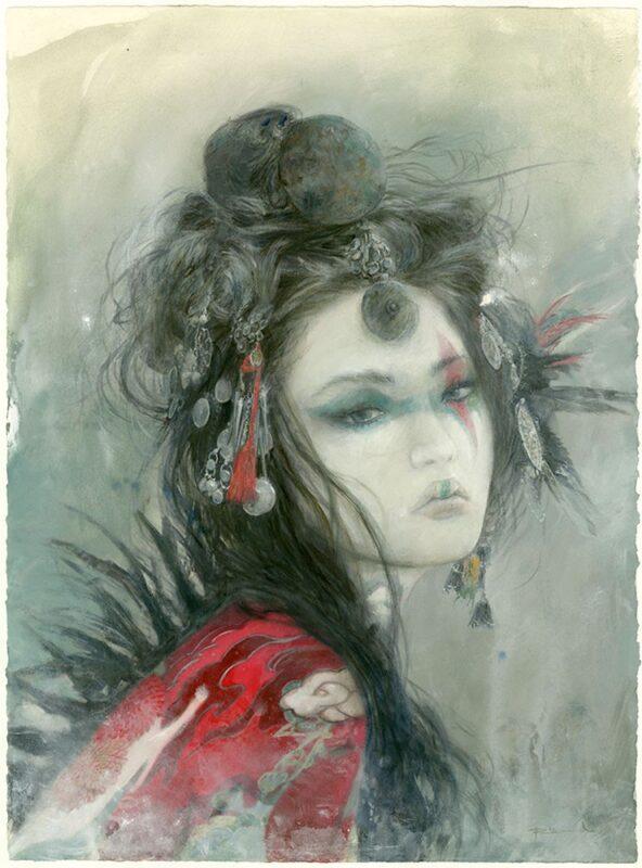 Romulo Royo Painting @ TheGallerist.art