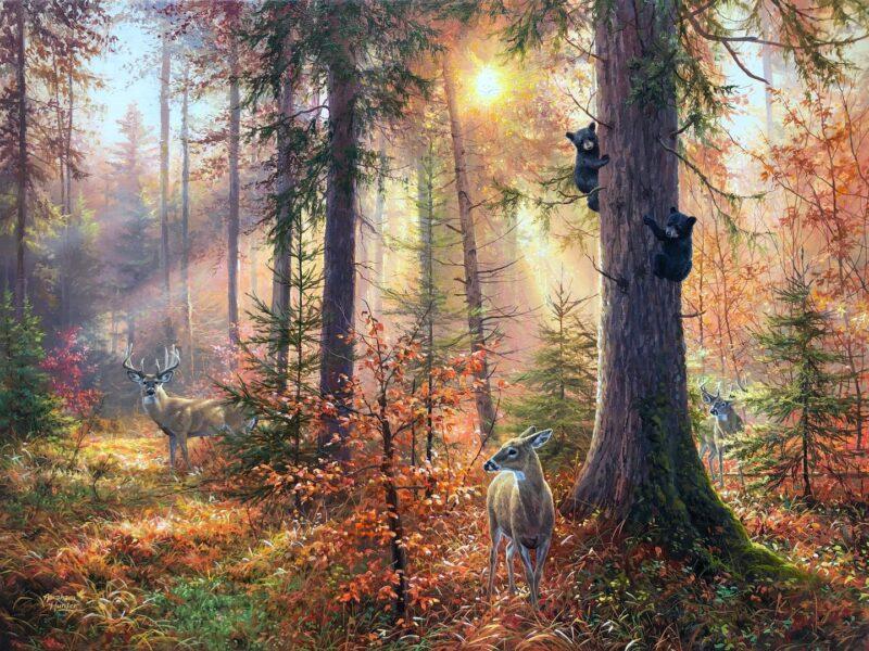 Abraham Hunter Painting @ TheGallerist.art