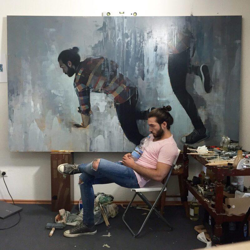 Alpay Efe Painter @ TheGallerist.art