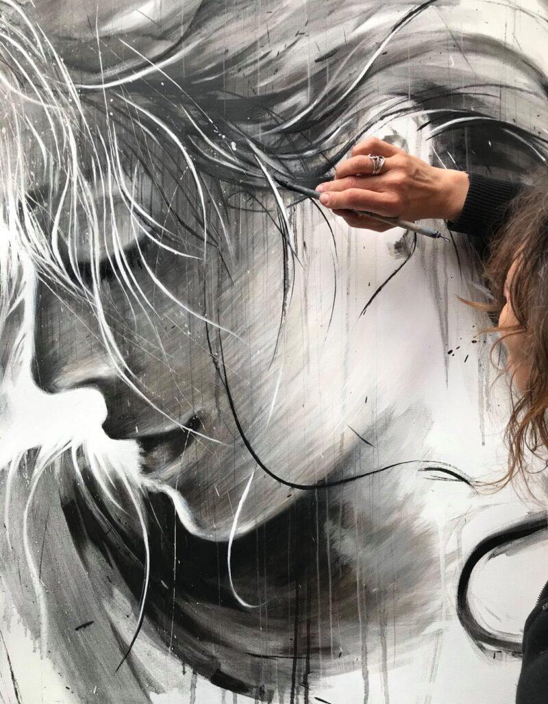 Ewa Hauton Painting @ TheGallerist.art