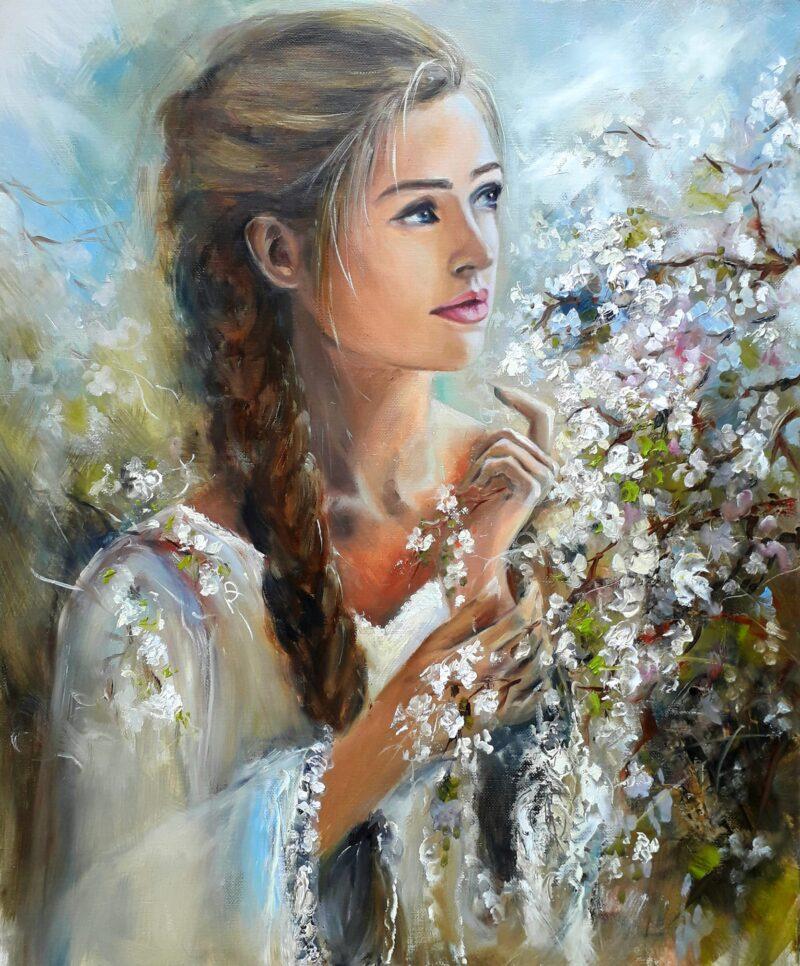 Yovka Mechkarova Painting @ TheGallerist.art
