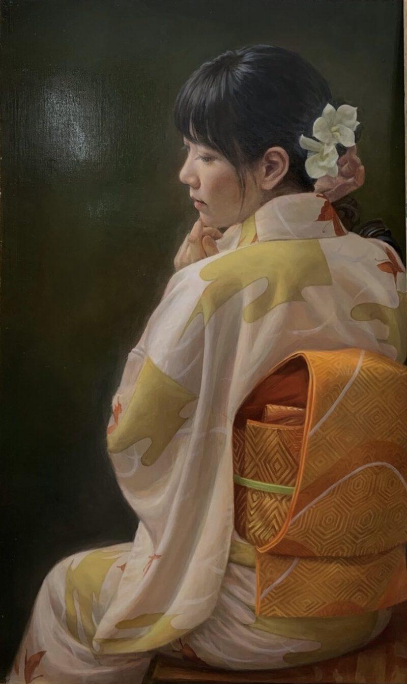 Fukui Ouka ( 福井欧夏 ) Painting @ TheGallerist.art