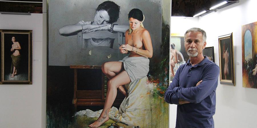 Hasan Saygin painting