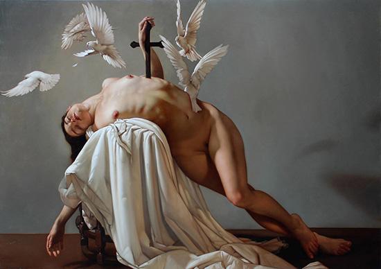 Roberto Ferri painting